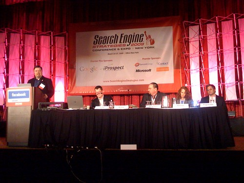 Dealing With Affiliates panel at SES NY