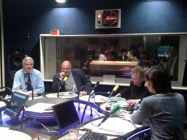 MIchel Barnier et Daniel Cohn-Bendit sur Les matins de France Culture