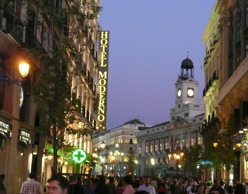 Un recorrido rápido a Madrid