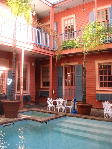 Courtyard of The Frenchmen