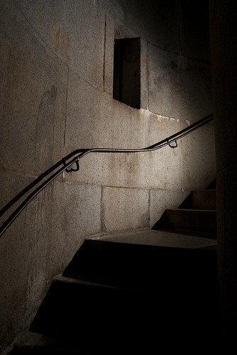 Bunker Hill Monument stairs