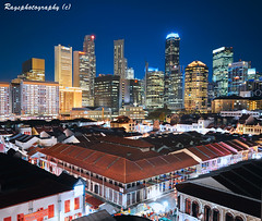 Cultural Nerves 'vs' Financial Muscle (Ragstatic) Tags: city longexposure travel