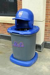 NYC - Queens - Flushing: Citi Field - Trash Can (wallyg) Tags: nyc newyorkcity ny newyork trash garbage baseball stadium helmet queens gothamist garbagecan trashcan mets ballpark newyorkmets flushing citifield