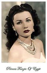 Princess  Fawzia Of Egypt (A) - Got Colored (Tulipe Noire) Tags: africa iran princess egypt middleeast cairo egyptian empress fawzia