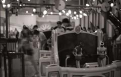 Toy Story Mania (Matthew Simantov) Tags: blackandwhite minolta vintagecamera fujineopan400 testroll himatic7s