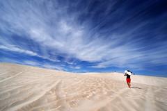 Untitled (Fahad Nasir -I'm Back- :D) Tags: blue sky cloud texture landscape sand nikon australia perth minimalism simple lancelin tamron1735mm nikond700