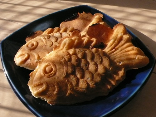 fish-shaped pancake
