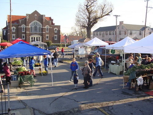 Opening Day 2009 at Cherry Street Farmers Market