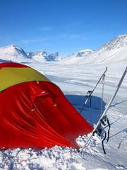 IMG_0203 (Swikman) Tags: camping winter snow mountains solitude tent arctic adventure nunavut asgard baffinisland summitlake auyuittuq