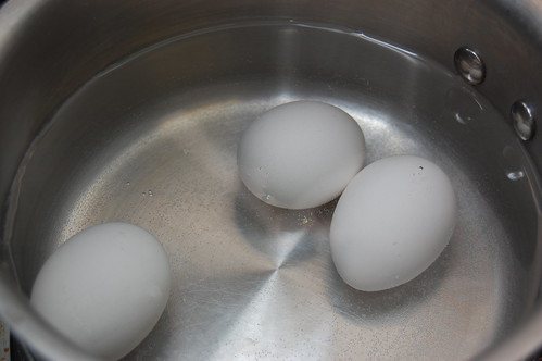eggs, before boiling