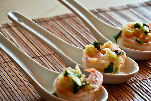 Garlic & Mint Shrimp