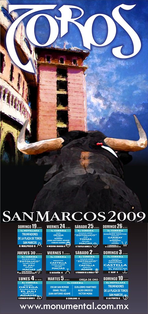 Cartel Feria de San Marcos 2009
