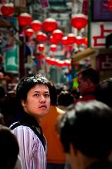Yokohama Chinatown (Mario Wibowo, ARPS) Tags: look japan tokyo nikon chinatown bokeh candid crowd away yokohama d300
