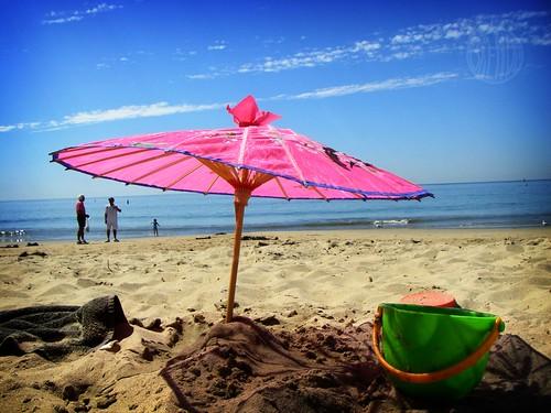 wonkey pink parasol!