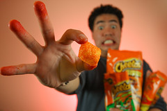 112/365: I Love Cheetos (moiht) Tags: orange cheese giant cheetos cheeto
