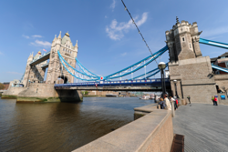 Tower Bridge at London, photographed with a Nikon 14-24mm lens mounted on a Nikon D3X