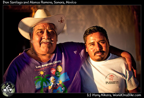 Don Santiago and Alonso Romero, Sonora, Mexico por exposedplanet.