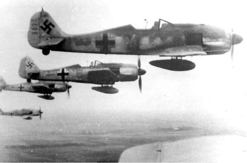 Warbird picture - DMP-D949 FW-190 IN FLIGHT