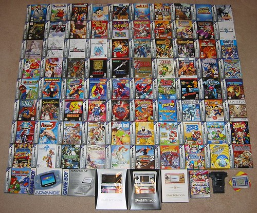 Game Boy Advance collection