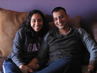 Nirali and Raj