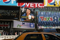 """Free Radio"" Billboard in Times Square (Vidiot) Tags: nyc radio square free billboard lance timessquare times freeradio krall vh1 lancekrall"
