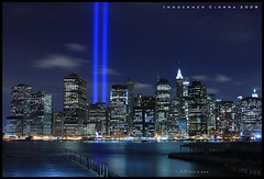 Tribute in Lights 9/11 2008