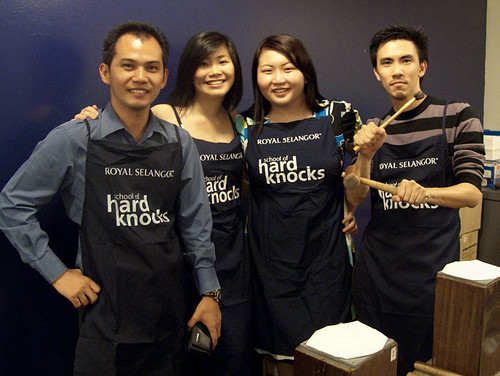 Royal Selangor School of Hard Knocks - Horng, Rachel, Suanie, Michael