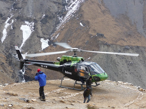 Altitude Sickness Evacuation - Thorong Base Camp