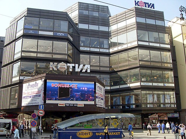 Kotva Mall Prague