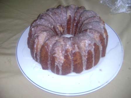 Buttermilk Lemon Poundcake