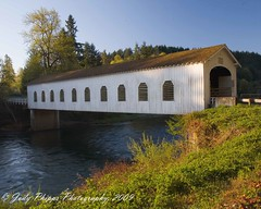 Good Pasture Covered Bridge (RU4SUN2) Tags: history oregon centraloregon coveredbridges lanecounty kissingbridge goodpasturecoveredbridge lanecountyoregon oregoncoveredbridges