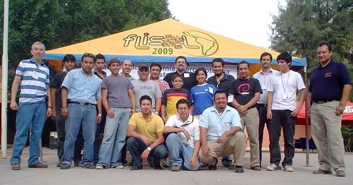 Organizadores Flisol 2009 Torreón