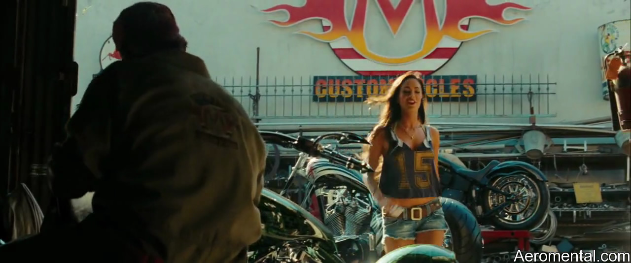 Transformers 2 Micaela shorts