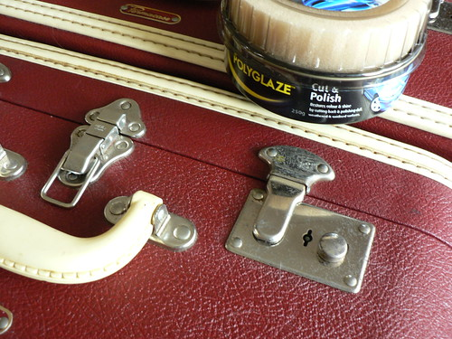 Restoring Vintage Suitcases Part II | Salihan Crafts Blog