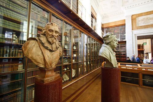 Beelden in Kings Library