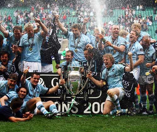 Il Leicester celebra il trionfo in Guinness Premiership