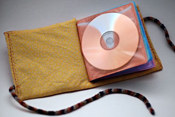 fabric CD case