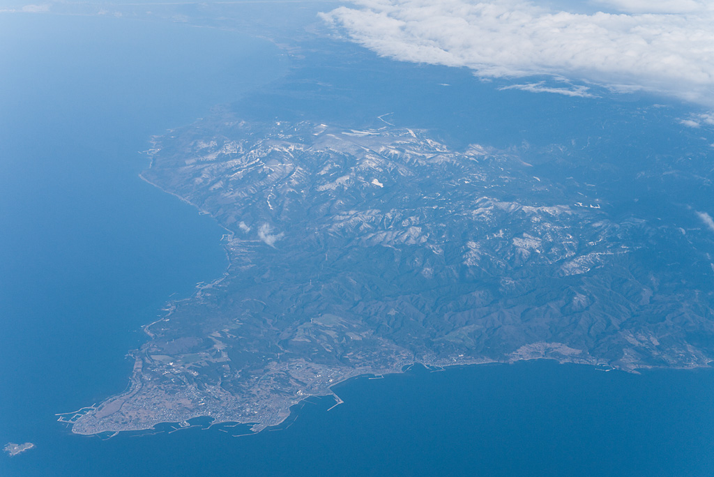 Oomasaki cape, of the Mainland northernmost in Japan