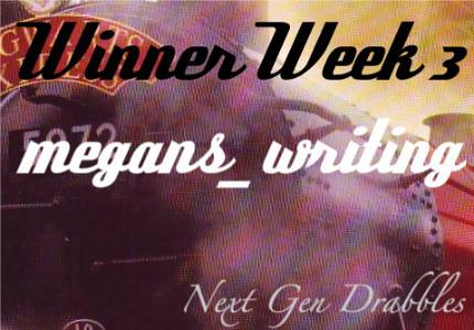 I won Week 3! *squeal*