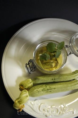 Zucchine in carpione per il Concorso Sottovetro
