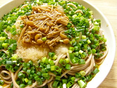 Bon apptit! (hamapenguin) Tags: food cooking dinner soba  flammulinaveluptipes  gratedradish