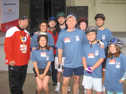 Heart and Stroke Ride for Heart 2009 Toronto