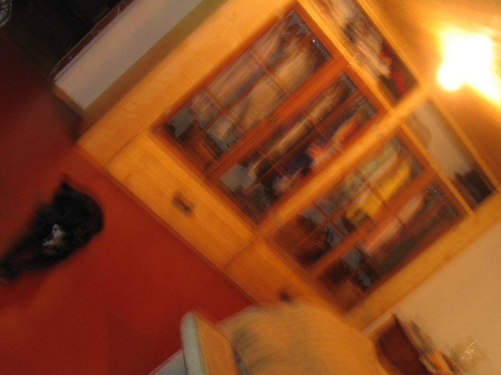 new/old closet ~ baaaad photo ~