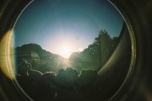 你拍攝的 【Fisheye2】開車出遊。