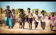 Happy World (cishore) Tags: world india smile june kids children happy village wildlife indian stock poor smiles running unite license hyderabad 2009 cishore kishore gettyimages request hws tribals kawal nagarigari kishorencom hwstour kawals