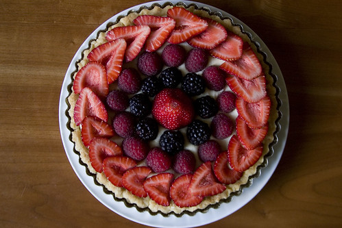 4th of July tart (top)