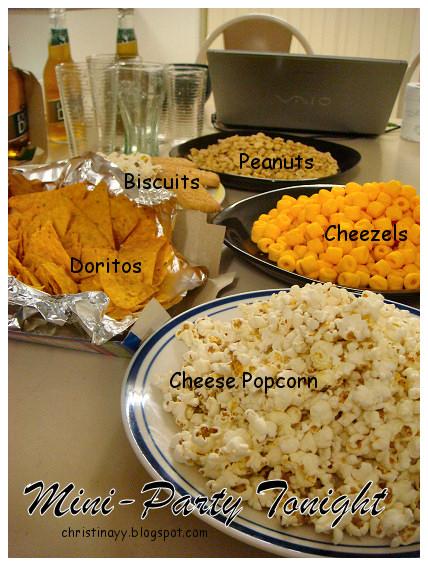 Mini Party:Snacks