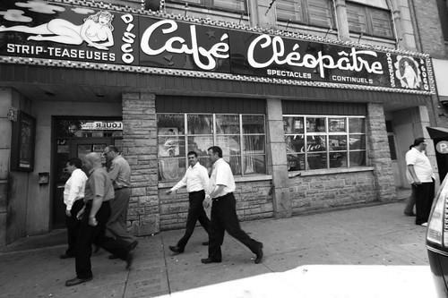 Café Cléopâtre, Montreal.