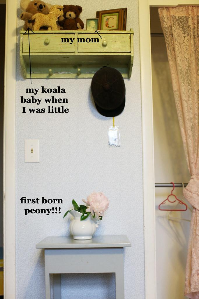 first peony