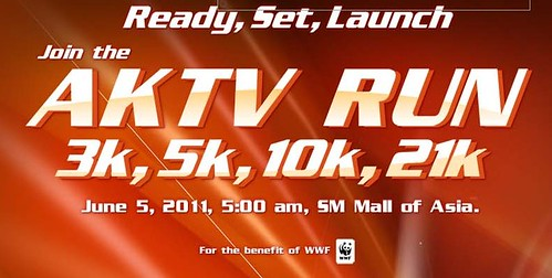 AKTV Run in SM MOA